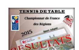 Championnat de France des régions Tennis de Table