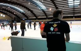 Journée de découverte patinage sport adapté
