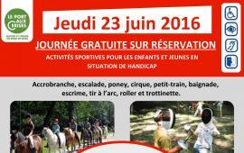 Journée multisports - Jeudi 23 juin 2016