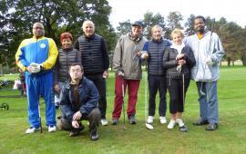 Championnat départemental de golf sport adapté