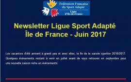 Newsletter Juin 2017