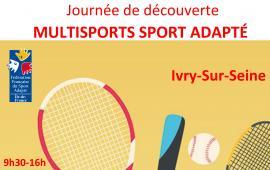 Journée de découverte - Multisport sport adapté