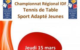 Championnat régional tennis de table SAJ