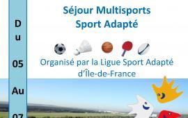 Séjour multisports sport adapté