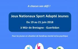 Jeux Nationaux Sport Adapté Jeunes - Bretagne