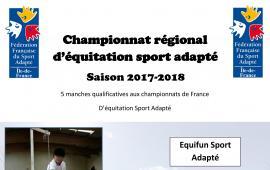 Championnat régional équitation sport adapté