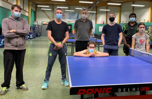 L'AS Corbeil-Essonnes fan de ping.
